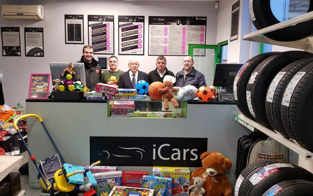 Recogida de juguetes por parte de iCars para la Asociación